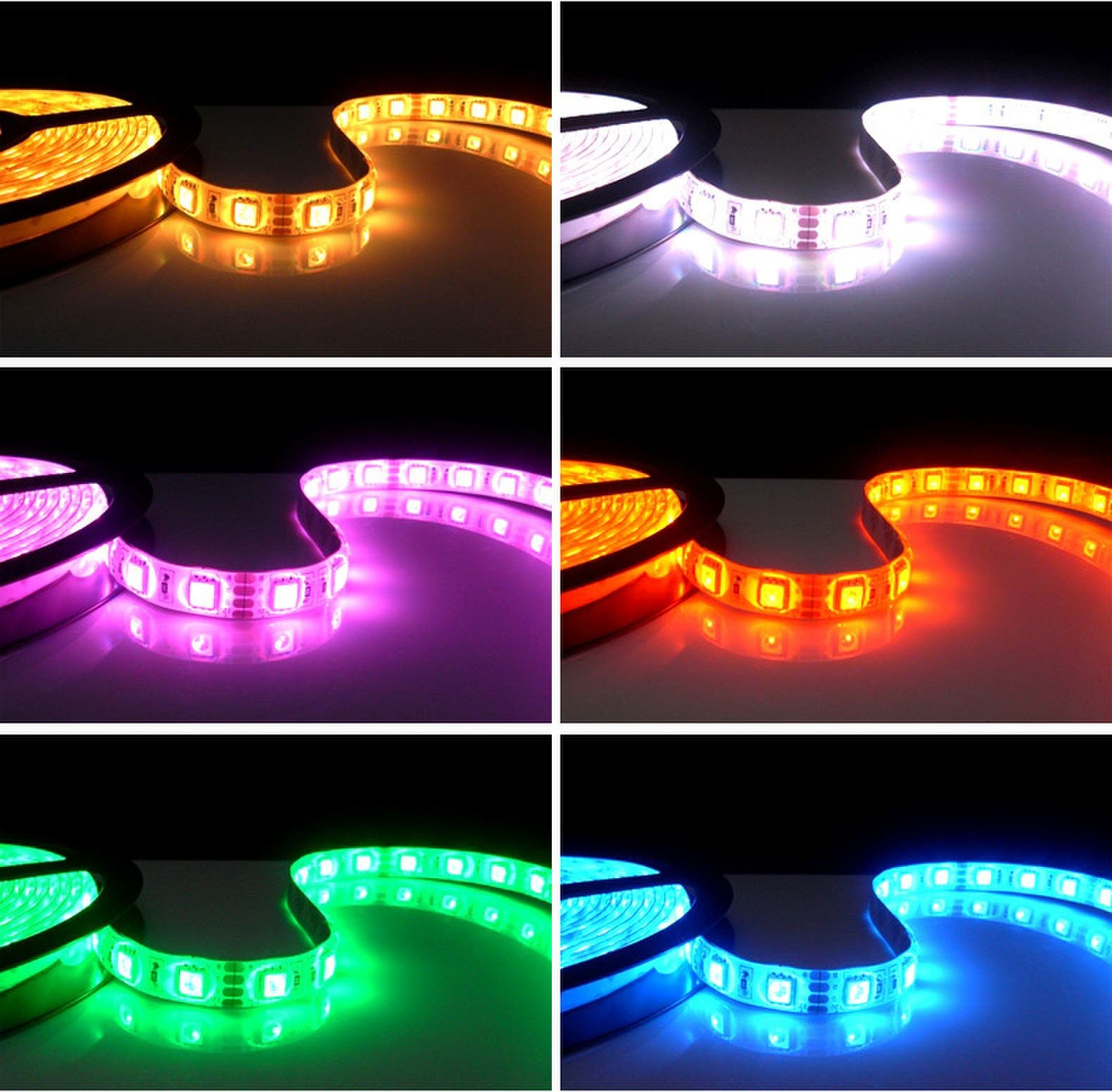 5050 RGB strip 30leds/M